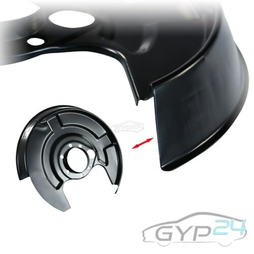 Ancrage en tôle décompté spritzblech Ancre Plaque disque de frein arrière gauche pour AUDI
