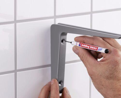 Edding 8850 Black Carpenter /& DIY Marker Pen Fine 20mm Long Nib for Drill Holes