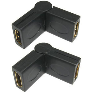 HDMI-perno-retto-ANGEL-Angolato-adattatore-90-270-GRADO-connettore-SOCKET-TO