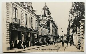 743-Ancienne-Carte-Postale-Bourges-rue-Moyenne-538