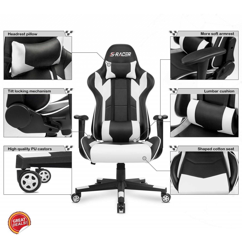 Super Big And Tall Gaming Chair Computer Best Racer Executive Office High Back Leather Spiritservingveterans Wood Chair Design Ideas Spiritservingveteransorg