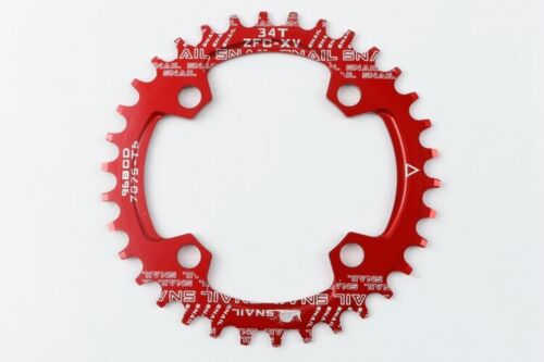 SNAIL 96mm BCD Chainring Ring 32-36T Bike Narrow Wide Round Oval Tooth Chain