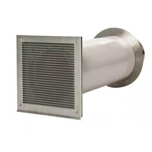Cb-tec Einzelklappe Aire de Combustión Sistema Zuluftkanal Vls 80 100 125 150mm