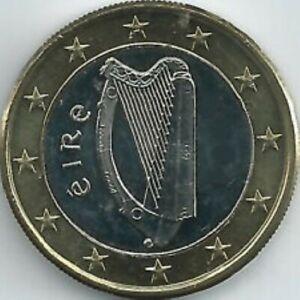 Ierland 2021  1 euro  ZEER ZELDZAAM - RARE  UNC uit de BU - COFFRET 6.000 ex !!!