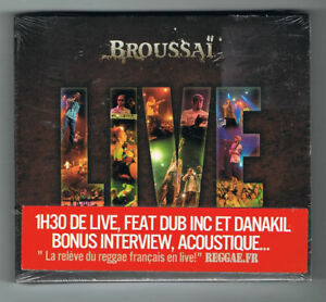 BROUSSAI-LIVE-REVE-D-039-EVOLUTION-2011-CD-DVD-NEUF-NEW-NEU