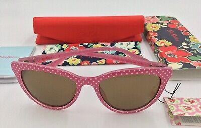 Cath Kidston Damen Klassische Rosa Gepunktet Sonnenbrille Ck5012 208