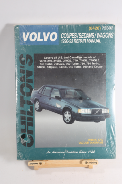 Volvo 1990 1991 1992 1993 Service Manual 240 740 760 780
