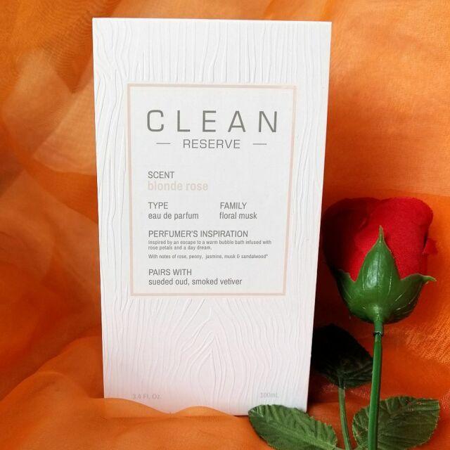 Clean blonde Rose Eau De Parfum Spray 100ml