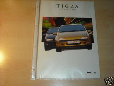 10594) Opel Tigra Zubehör Holland Prospekt 1998 Sparen Sie 50-70%