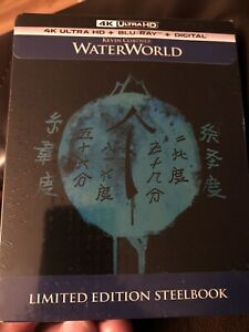 Waterworld-4K-Steelbook-4k-UHD-Blu-ray-Digital-Copy-Sold-Out-RARE-OOP-NEW