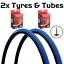 miniatuur 5 - Vandorm 700 x 23c SPEED 3 Colour Road Bike Fixie Tyres & Tube DEAL OPTIONS