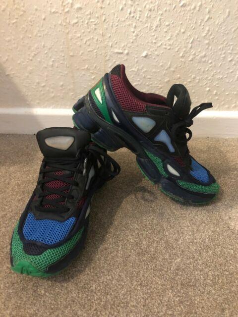 en soldes 7b76a 4b1b8 Adidas X Raf Simons Ozweego 2 II burgundy, green, blue Size UK7