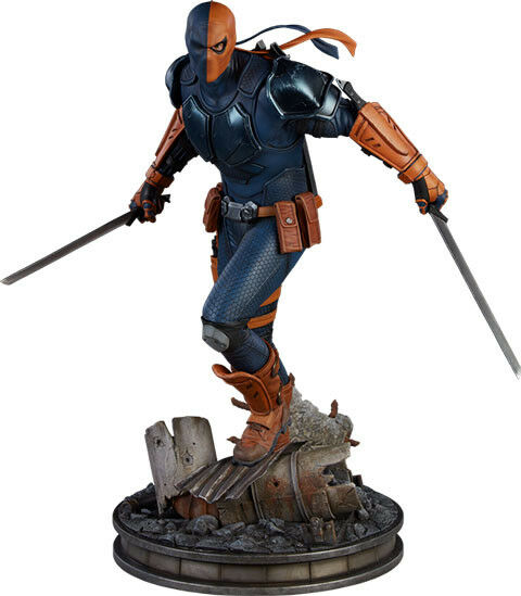 BATMAN - Deathstroke 19  Premium Format Statue  Sideshow Collectibles   NEW