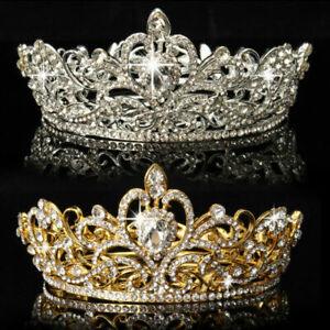Crystal-Rhinestone-King-Crown-Wedding-Bridal-Diamante-Tiara