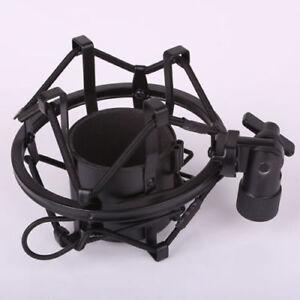 Black-Spider-Large-Diameter-Condenser-Mic-Shock-Mount-Holder-Vibration-Cradle