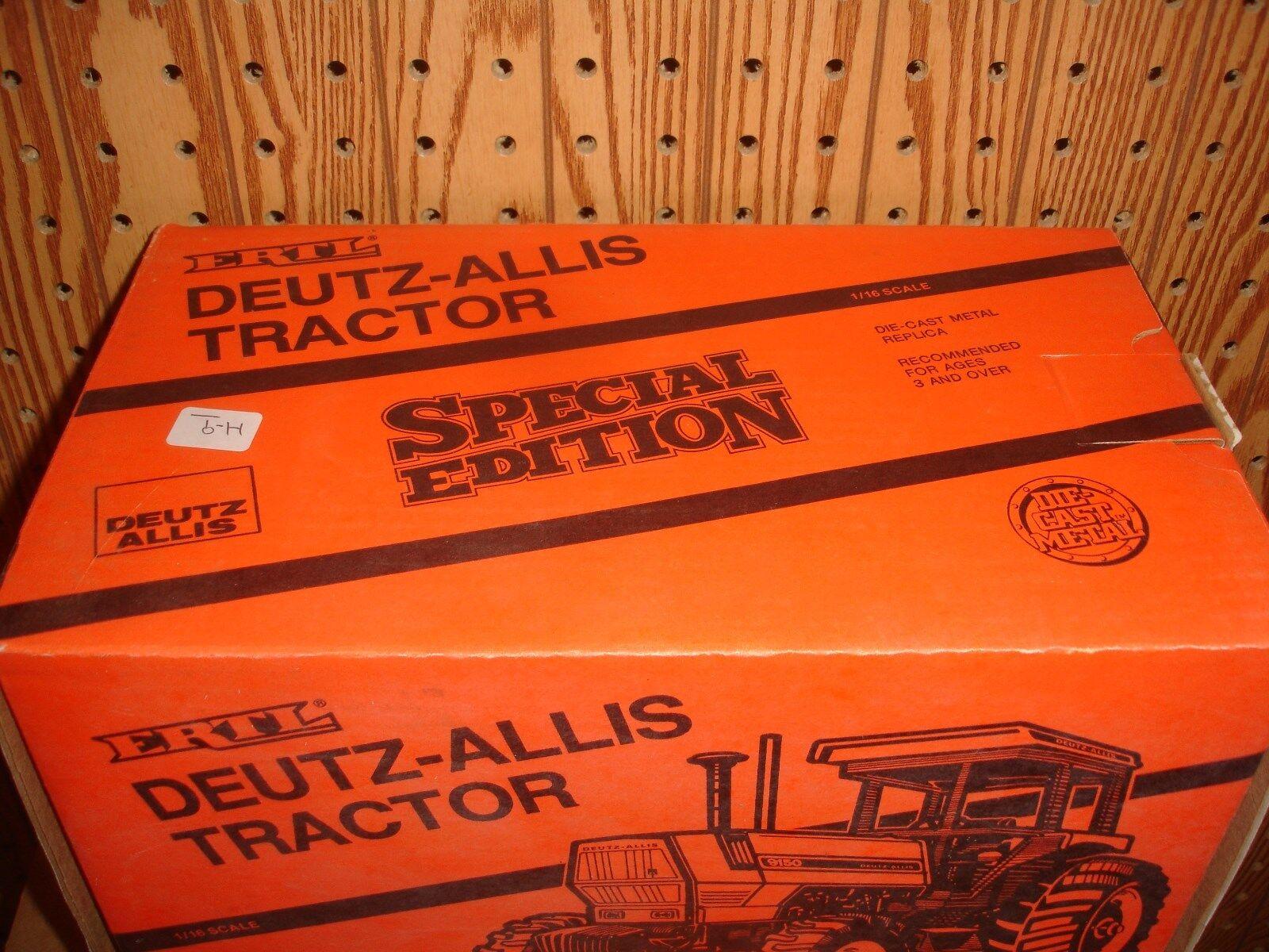 1 1 1 16 Aagco Allis 9150 FWA Toy Tractor caa594