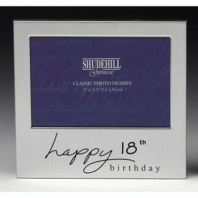 Felice 18th Compleanno Regalo Cornice Fotografica Shudehill 72218- Numerosi In Varietà