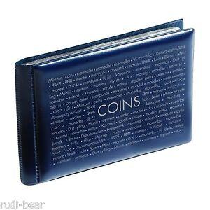 Muenzen-Taschenalbum-mit-8-Muenzblaettern-fuer-je-6-Muenzen-blau-coins