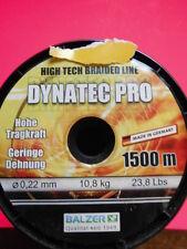 DYNATEC Pro Rotondo Intrecciato Corda Balzer High Tech BRAIDED LINE 0,13mm 6,8kg