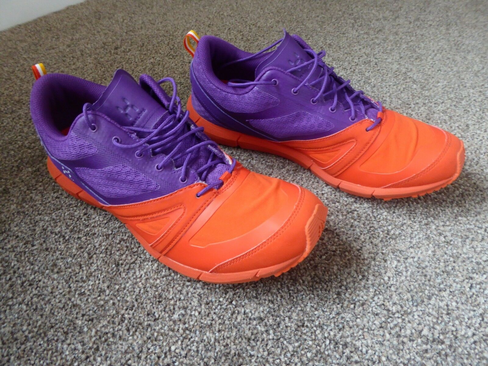 Haglofs LIM Gel Trail Running Hiking shoes UK 7.5 Lightweight Trekking