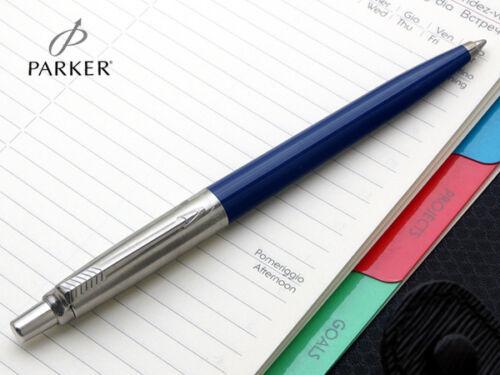 Blue Parker Jotter Ball Point Pen Black Red Gold Silver CT GT Black Blue ink
