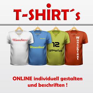 Selbst Eigenes Beschriftet Shirt Mit T Individuell Designen NOmny80vw