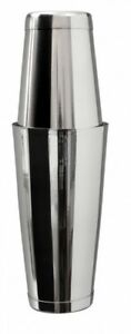 MEZCLAR Acier Inoxydable Boston Shaker Set Tin sur Tin Can pondérée  </span>