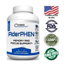 AderPhen? Best Focus Booster Nootropic Brain Supplement, Mental Clarity, Memory