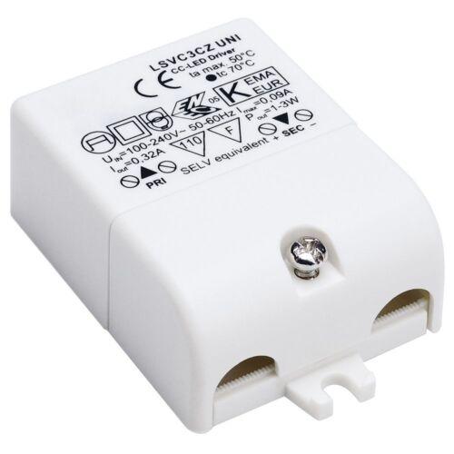 3 W mit Zugentlastung 230 V 350mA LED Treiber