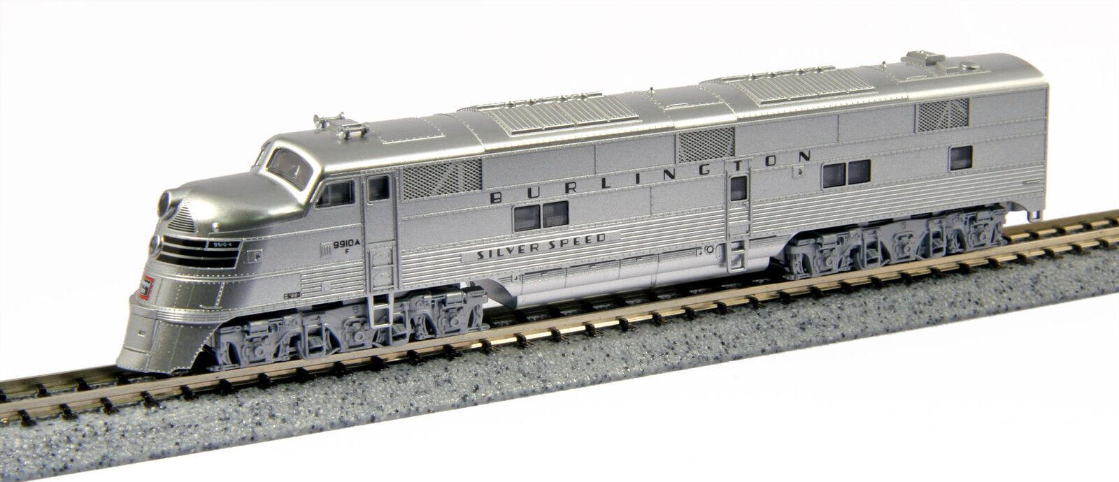 Kato 1765401 n CB&Q Burlington  9910A, EMD E5A Diesel N Scale 176-5401 - Nuevo