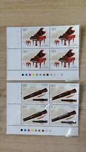 China 2006-22 Chinese Guqin and Piano (Joint issue of China and Austria) blok-B