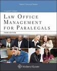 Law Office Management for Paralegals by Laurel A Vietzen (Paperback / softback, 2015)
