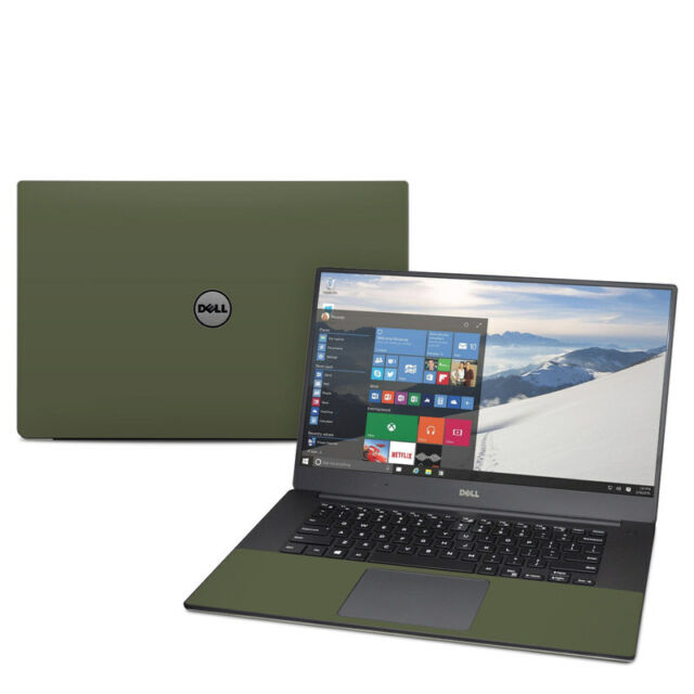 da2507605c97 Solid Olive Drab Decal Sticker Skin for Dell XPS 15 9550 9560 Laptop