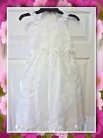 Jayne Copeland Girl's 7 Ivory Dress Flower Girl/special Occasion/wedding