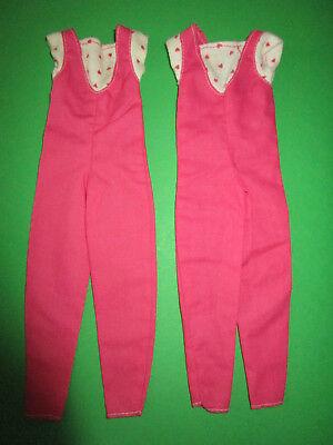 272) 2 Rosa-bianca Barbie Overalls/jumpsuits Mattel 80er Barbie Anni-gemelli-uits Mattel 80er Jahre Barbie-zwillinge It-it Mostra Il Titolo Originale Disponibile In Vari Disegni E Specifiche Per La Vostra Selezione