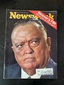VTG-Newsweek-Magazine-May-10-1971-Herbert-Hoover-039-s-FBI