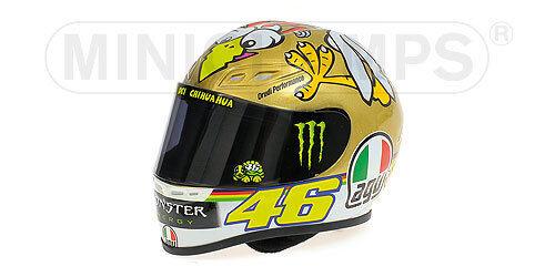 Casco Agv Valentino Rossi Pollo Motogp Valencia 2009 1 2 Minichamps 328090066