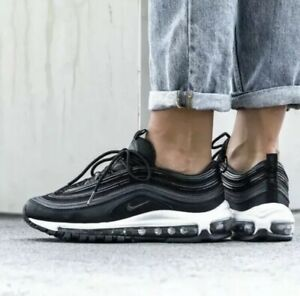 56a1260abd Nike Air Max 97 Black Anthracite Grey Uk Size 4.5 Eur 38 921733-011 ...