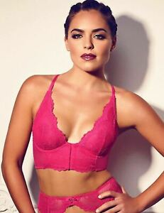 Gossard-Womens-Superboost-Lace-Deep-V-Bralette-Bright-Rose