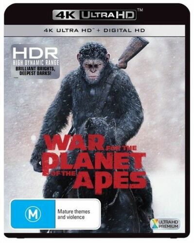 1 of 1 - War For The Planet Of The Apes 4K Ultra HD (Blu-ray, 2017) Brand new & sealed