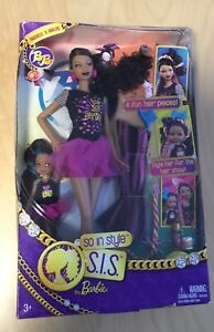 So-in-Style-Locks-of-Looks-Trichelle-amp-Janessa-doll-giftset-NRFB-Barbie