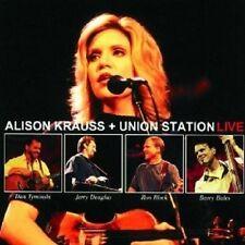 "ALISON KRAUSS & UNION STATION ""LIVE"" 2  NEU"