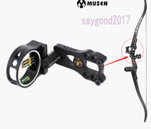 Professional T Shape Recurve Bow Sight Archery Hunting Target Accessories Black
