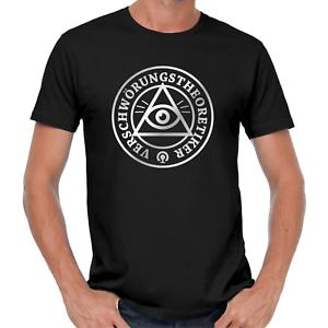 Verschwoerungstheoretiker-Allsehendes-Auge-Sprueche-Comedy-Lustig-Spass-Fun-T-Shirt