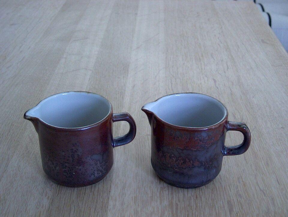 Keramik, flødekander, Thule Desiree