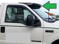 Unpainted Truck Cab Sun-visor For 1999-2016 Ford Super Duty F250-f350-f450-f550
