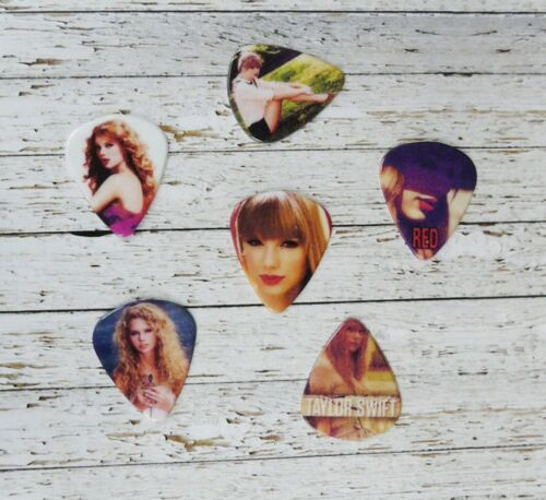 TAYLOR SWIFT custom electric or acoustic guitar plectrums picks