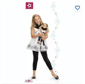 18/'/' American Girl Truly Me Let it Snow Holiday Shiny Black Shoes For Doll Xmas