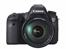 Canon EOS 6D 20.2 Megapixels Digital Camera-Black (Kit w/ EF 24-105mm F/4L...