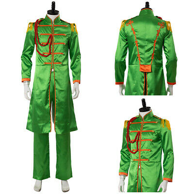 The Beatles Sgt Pepper S Lonely Hearts Club John Lennon Cosplay Costume Suit Ebay
